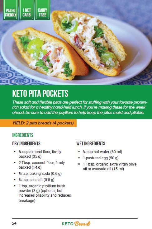 Keto Flatbread Recipe | Cascade Chiropractors