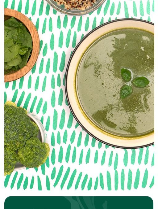 Spinach, Quinoa, and Broccoli Bisque