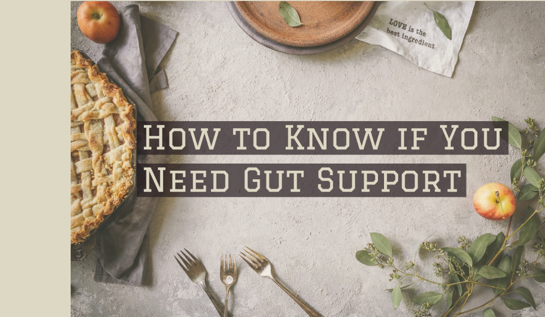 How to Know if Your Gut Needs Support