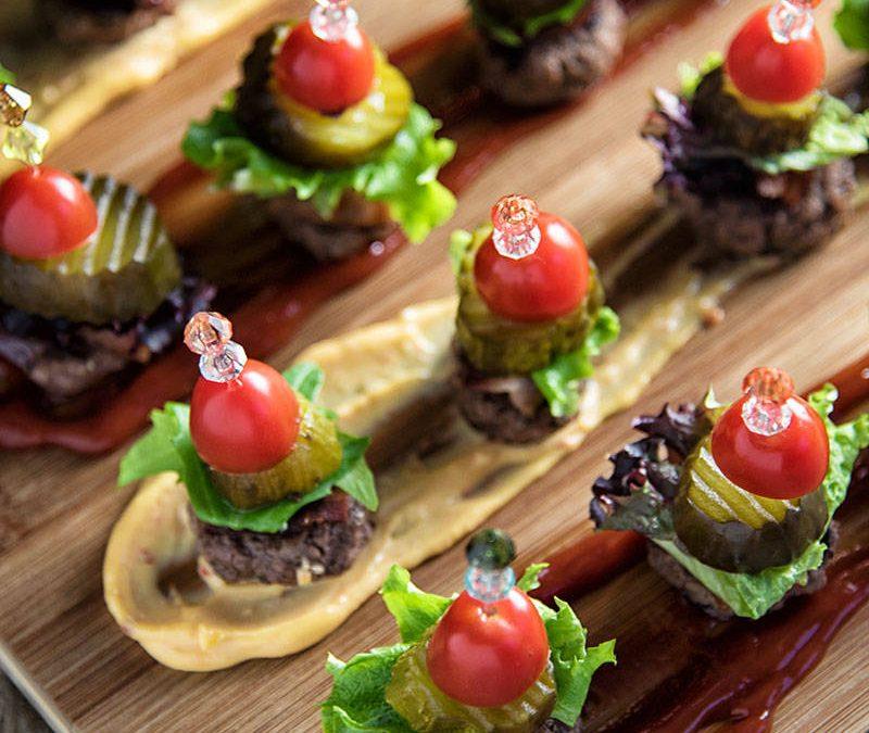 Mini Hamburger Bites